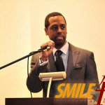 Andre McWilliams of Street Vision was the event host and also had his photography displayed during the event..