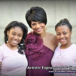 Rhonda Walker and two paricipants of the Rhonda Walker Foundation who also spoke during the program.