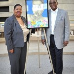 "The proud new owners of ""Broken"" by SuVon Treece."