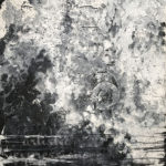 """Black and White Abstract""30""x40""Siana Treece $475.00"