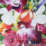 """Floral Arrangement""24""x36""Siana Treece $600.00 $300 - 50% off"