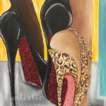 """The Ladies Room""30""x40""Siana Treece $500.00"