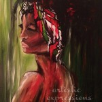 """Woman Alone""18""x24""Siana Treece SOLD"